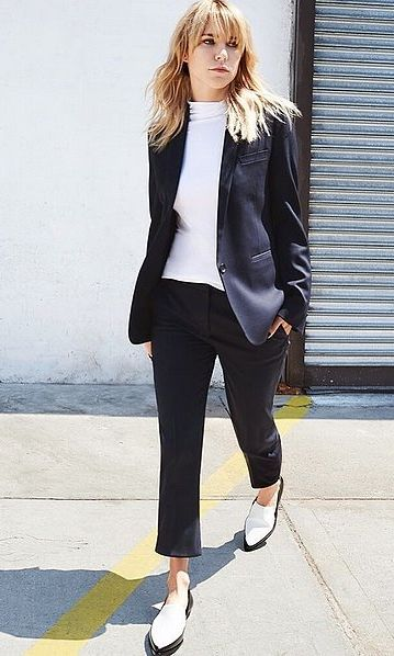 Work-Appropriate With Sleek Suiting