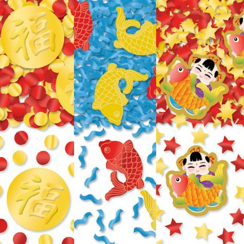 Chinese New Year Confetti 1.2oz - Party City