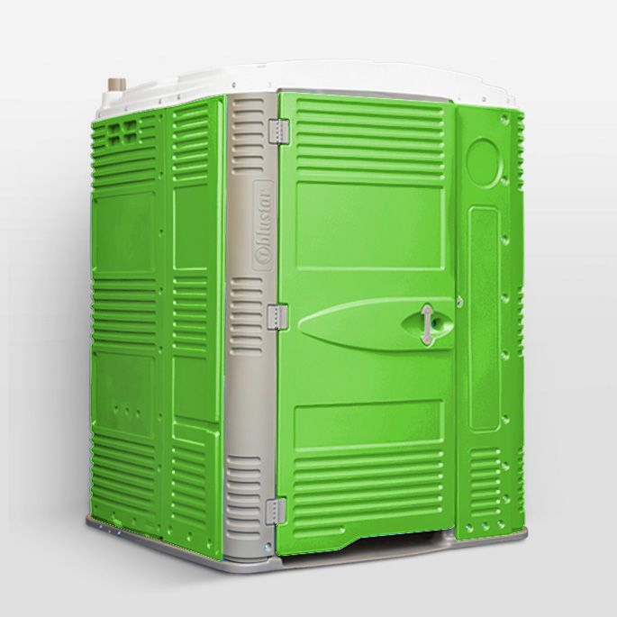 Space160 Portable toilet, Locker storage, Portable restrooms