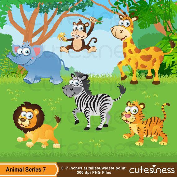 Zoo Digital Clipart Zoo Clipart Safari Clipart Jungle Animal Clipart Wild Animal Clipart Baby Jungle Animals Animal Clipart Zoo Clipart