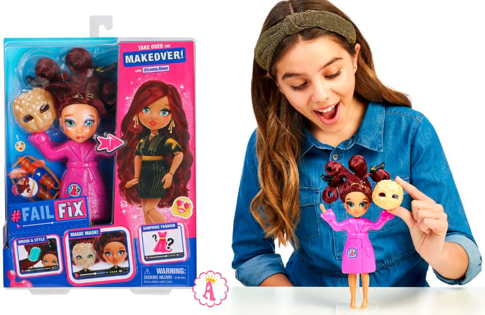 Кукла FailFix Loves.Glam в 2020 г Куклы, Розовые пряди