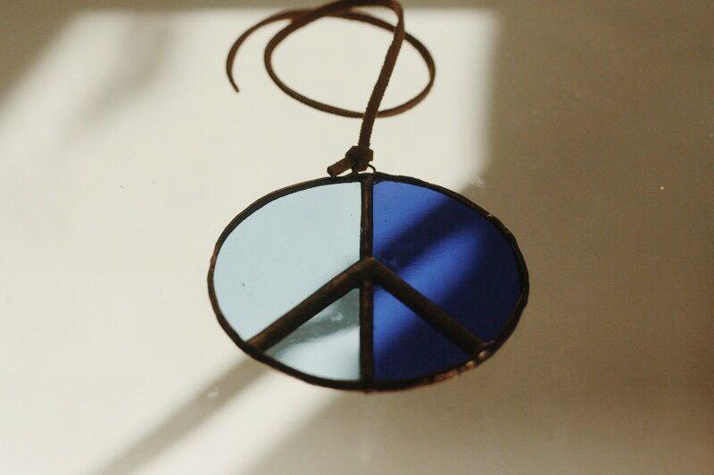 Peace Sign Suncatcher