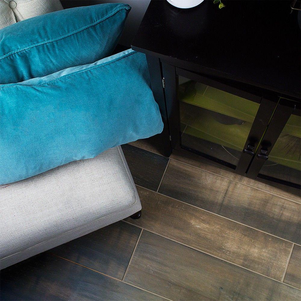Cerpa Forest Cuero 6x34 Porcelain Tile | TileBar.com. | house ...