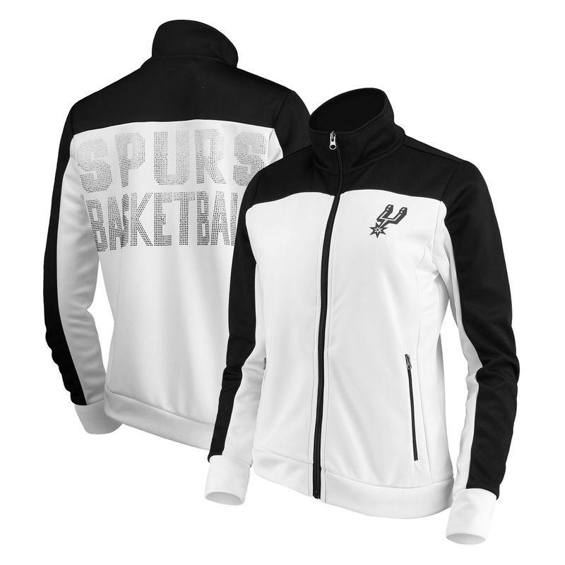 San Antonio Spurs G-III 4Her by Carl Banks Women s Play Maker Full ... a3617b0c7