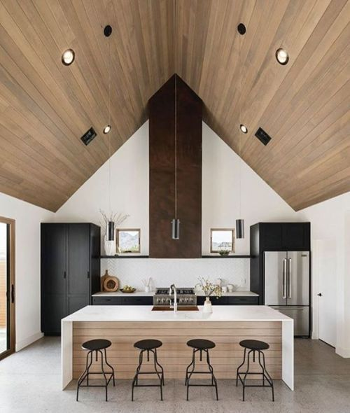 Clean and #symetric #kitchen!! #LiamBarion - Architecture and Home