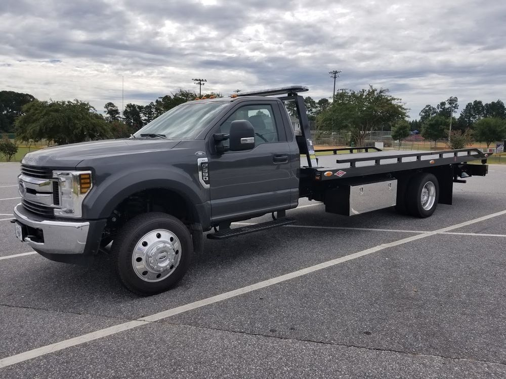 2018 ford f 550 with danco rollback wrecker tow truck ebay link