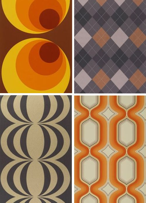 Tags 70s wallpaper modern 70s decor fashion Pinterest