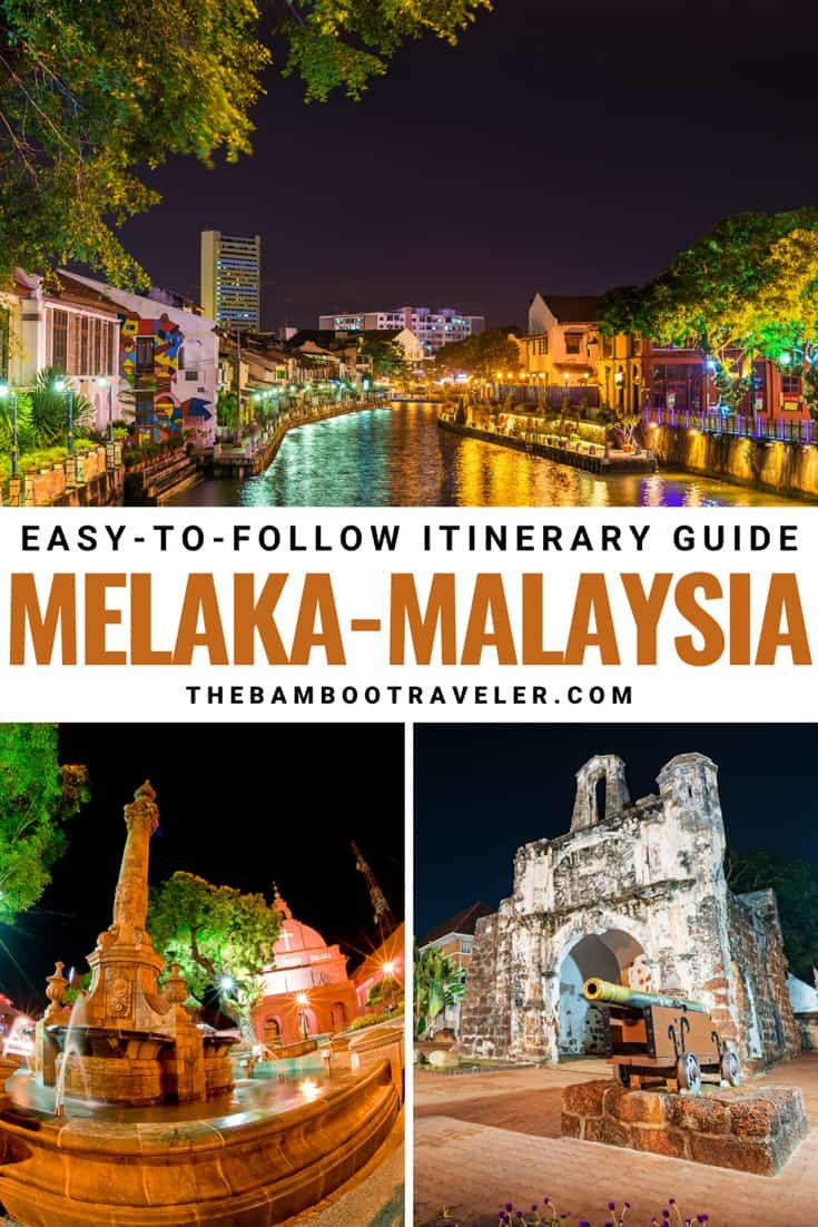 An 2 Days in Melaka Itinerary The Bamboo
