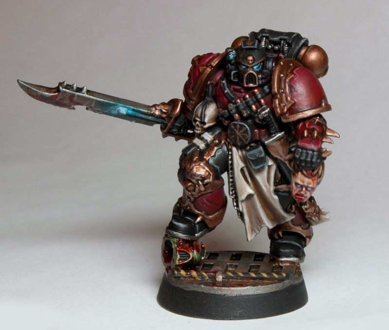 A Stunning Chaos Space Marine Conversion. It's Simplicity