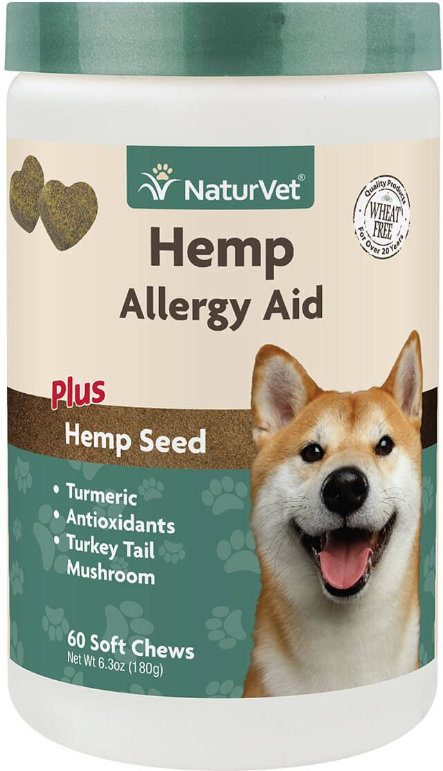 Hemp Allergy Aid For Dogs 60 Ct In 2019 Hemp Animal Products