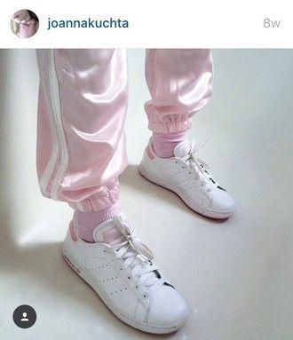 adidas stan smith kinder pink