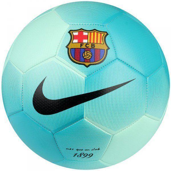 NIKE FC BARCELONA PRESTIGE SOCCER BALL SIZE 5 Greeb Glow.  6e616a2338c