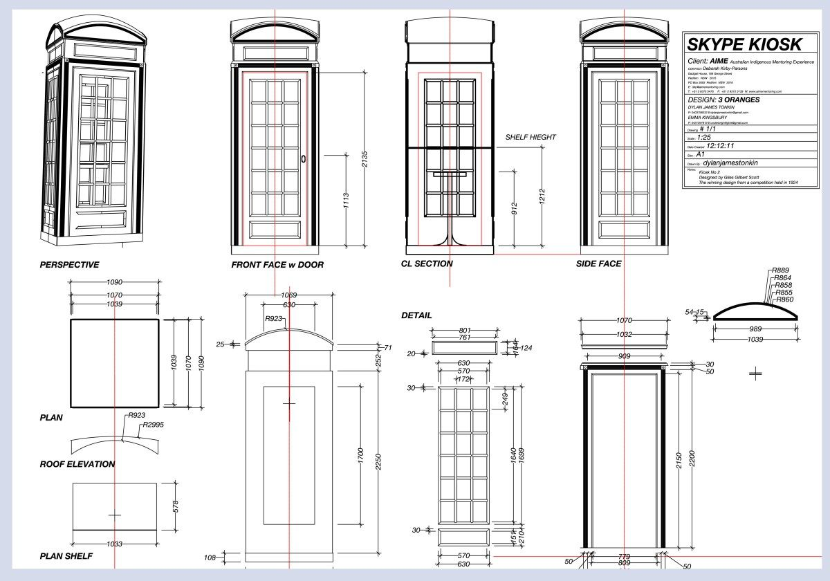 english phone booth plans for building - Google Search | Book ...