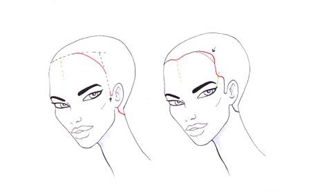 How To Draw Hair Hairline I Draw Fashion Drawings How To Draw Hair Art Reference Poses