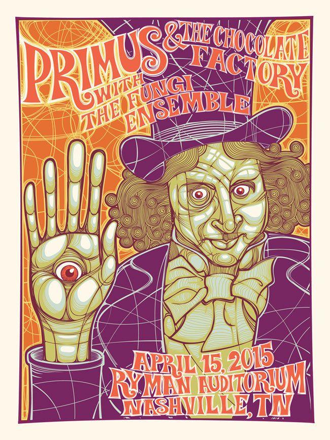 Primus Poster Series Poster series, Nashville poster