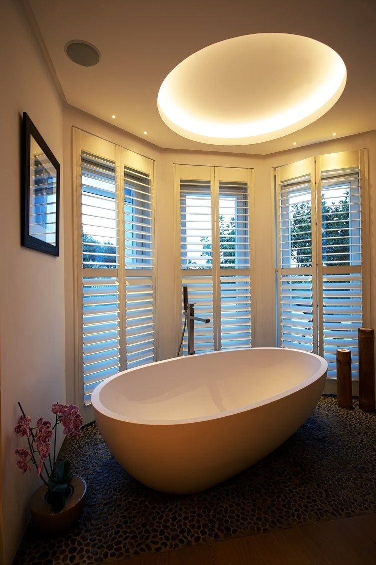 Lujo LED Bad lámparas luces de techo blanco baño residenciales