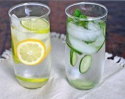 gezond en caloriearm drinken, verkoelend op warme dagen en luxe bij het eten