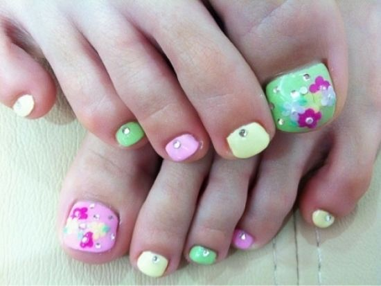 Cool toe nail art designs there are numerous ways to polish your images of summer toe nail designs 2012 pictures photos video 8 wallpaper prinsesfo Images