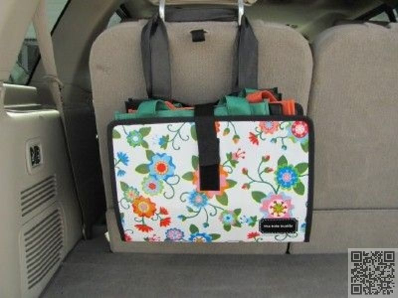 13 Good Storage Idea In Car For Reusable Bags 24
