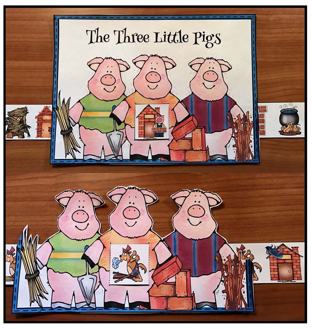 Activities Amp Crafts For The 3 Little Pigs Fairy Tale