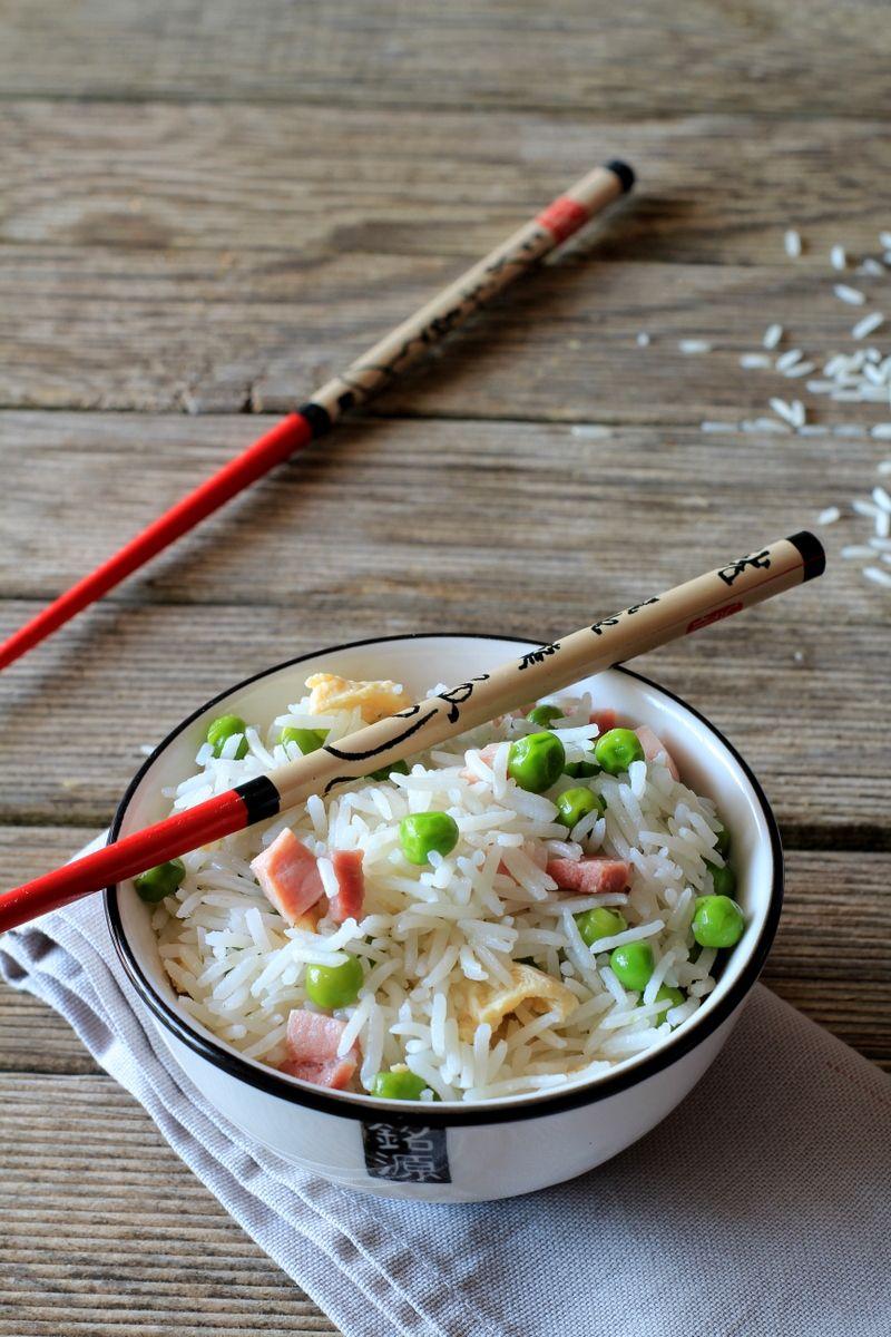 Ricetta con e senza Bimby del Riso alla Cantonese. Un piatto della ...