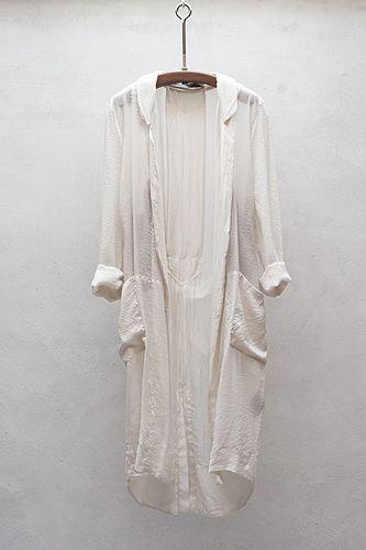 // Raquel Allegra silk robe
