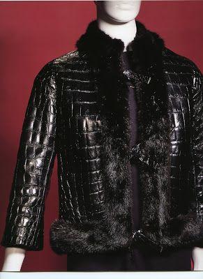 b05e411c34e yves saint laurent for dior alligator biker jacket 1960 - Google Search