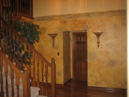 Tuscan Wall Colors Tuscan Yellow Paint Color Wash That