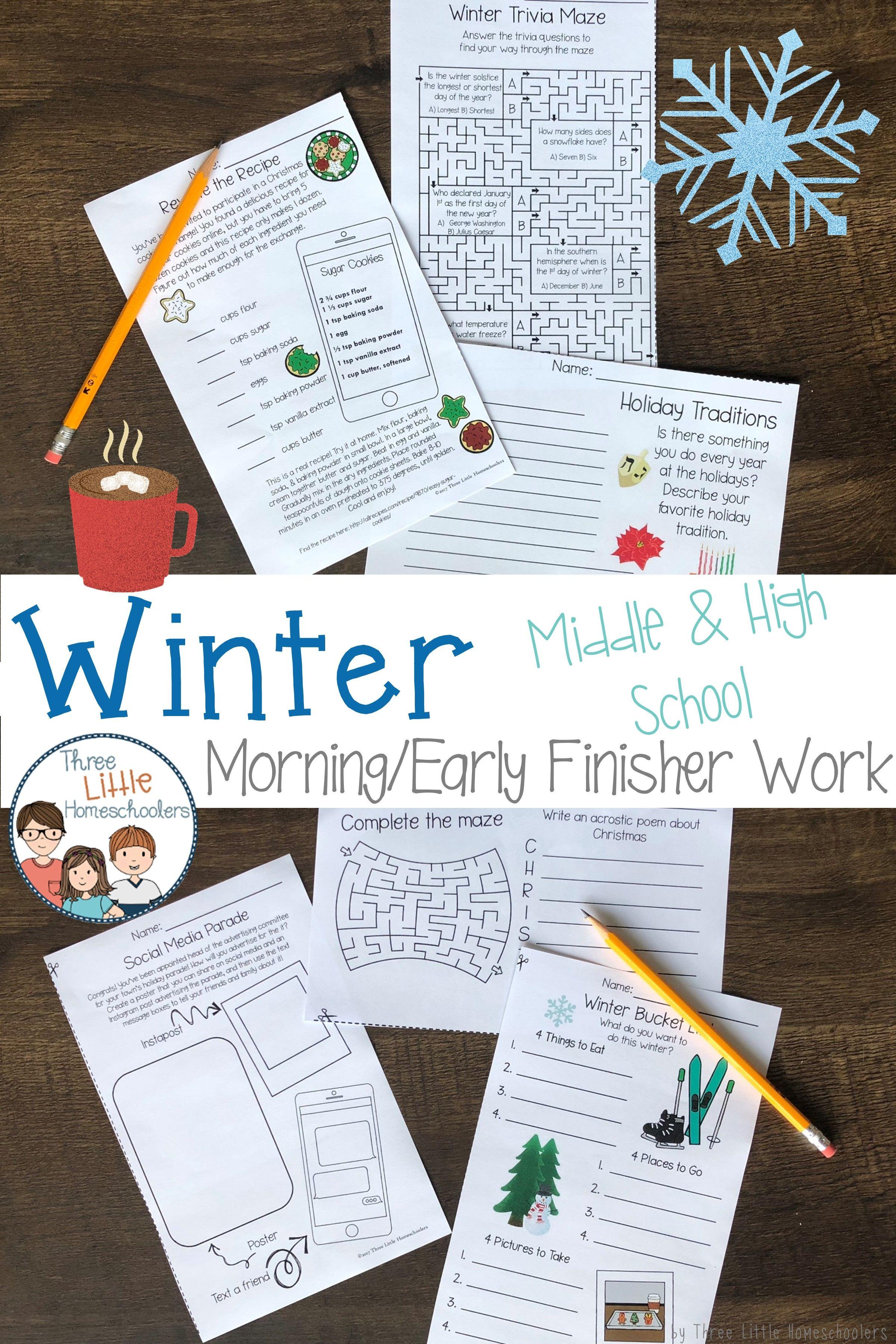 Winter Activities For Older Kids