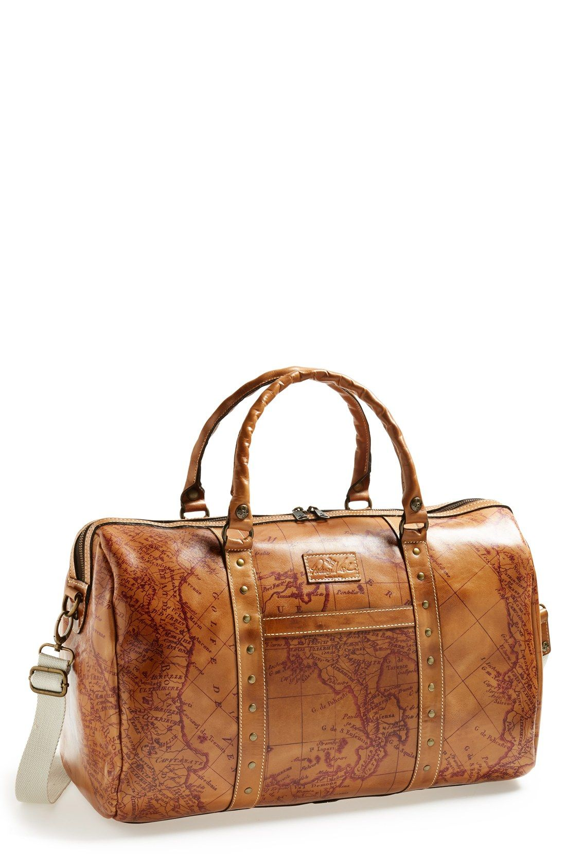 e1ba0bd7b Patricia Nash 'Milano' Weekend Bag | Good looks | Leather overnight ...