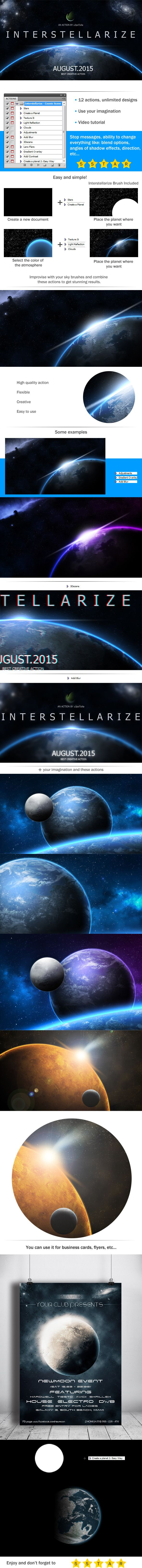 Interstellarize - Cosmic Scene Action