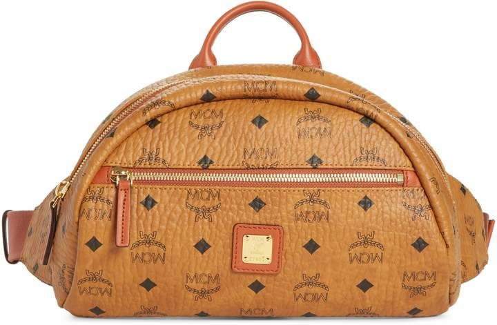 b75b91d512743e MCM Small Vintage Visetos Coated Canvas Belt Bag in 2019 ...