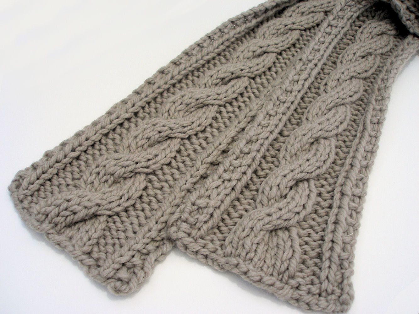 knit or crochet cable pattern | Note: I have had an awful lot of ...