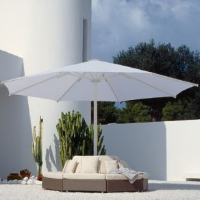 17 Ft Round Telescope Commercial Umbrella Only 5 739 00 Free Shipping A Huge Umbrella At A Discounted Price Umb Commercial Umbrellas Patio Umbrellas Patio