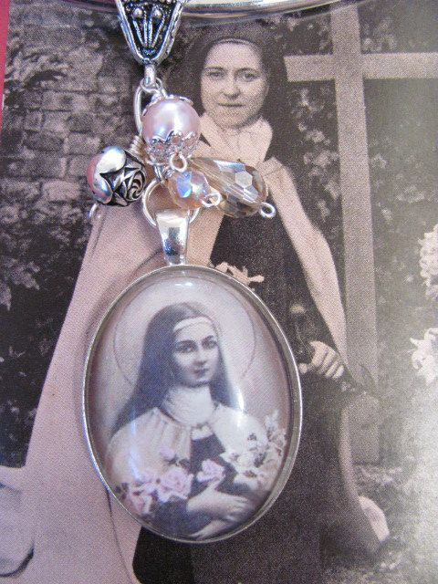 Vintage Style St. Therese of Lisieux by angeliquesboutique8, $38.00