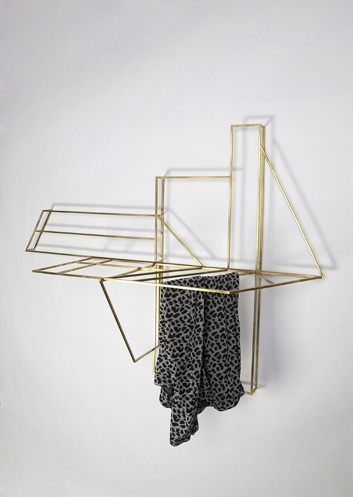 Studio Berg Designed A Drying Rack That Doubles As Wall Art