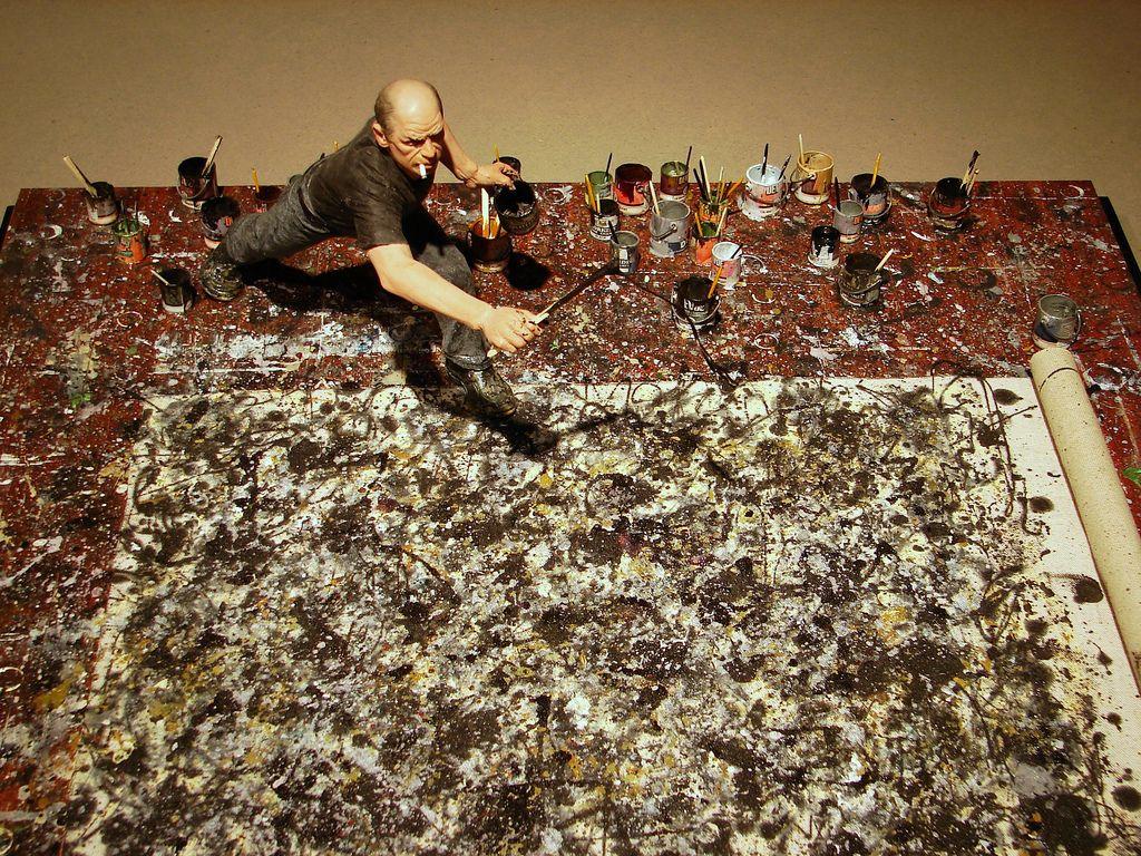 Paul Jackson Pollock fue un influyente artista estadounidense y un ...