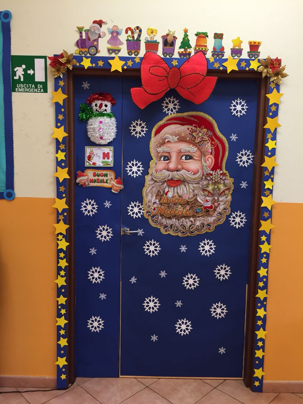 my christmas classroom door by giusy cer