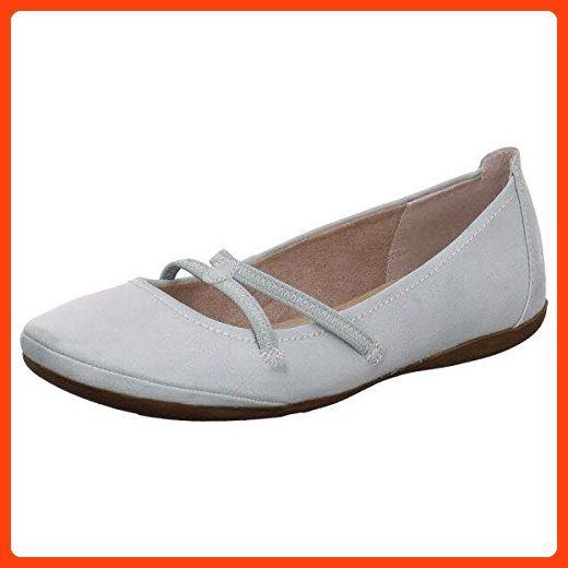 tamaris pumps blau 36, Tamaris klassische ballerina silver