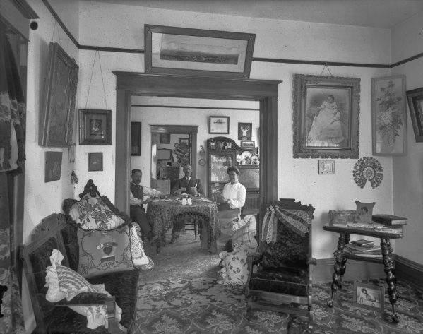 Home Interior Salida Colorado Ca 1900 With Images Victorian