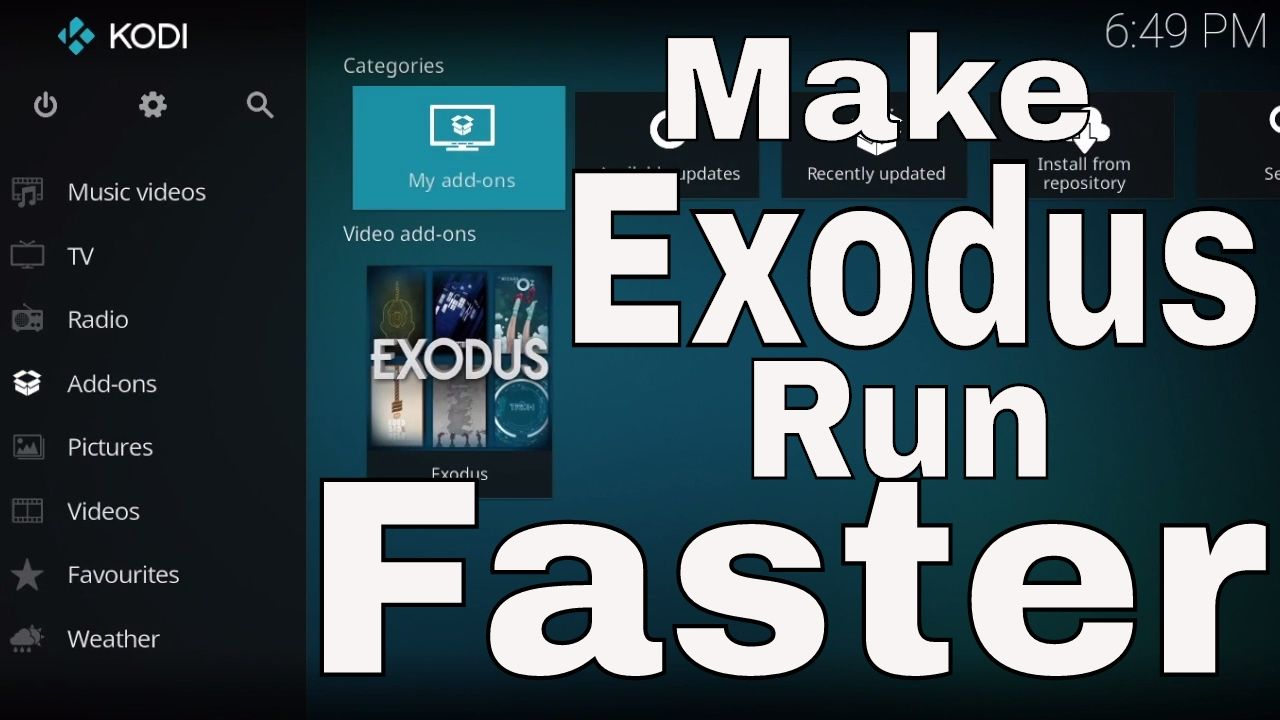 Supercharge Exodus!!! How to Make Exodus Run Faster