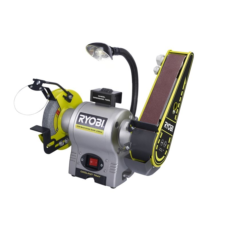 Ryobi 370w Bench Grinder Sander In 2019 Shop Buffing