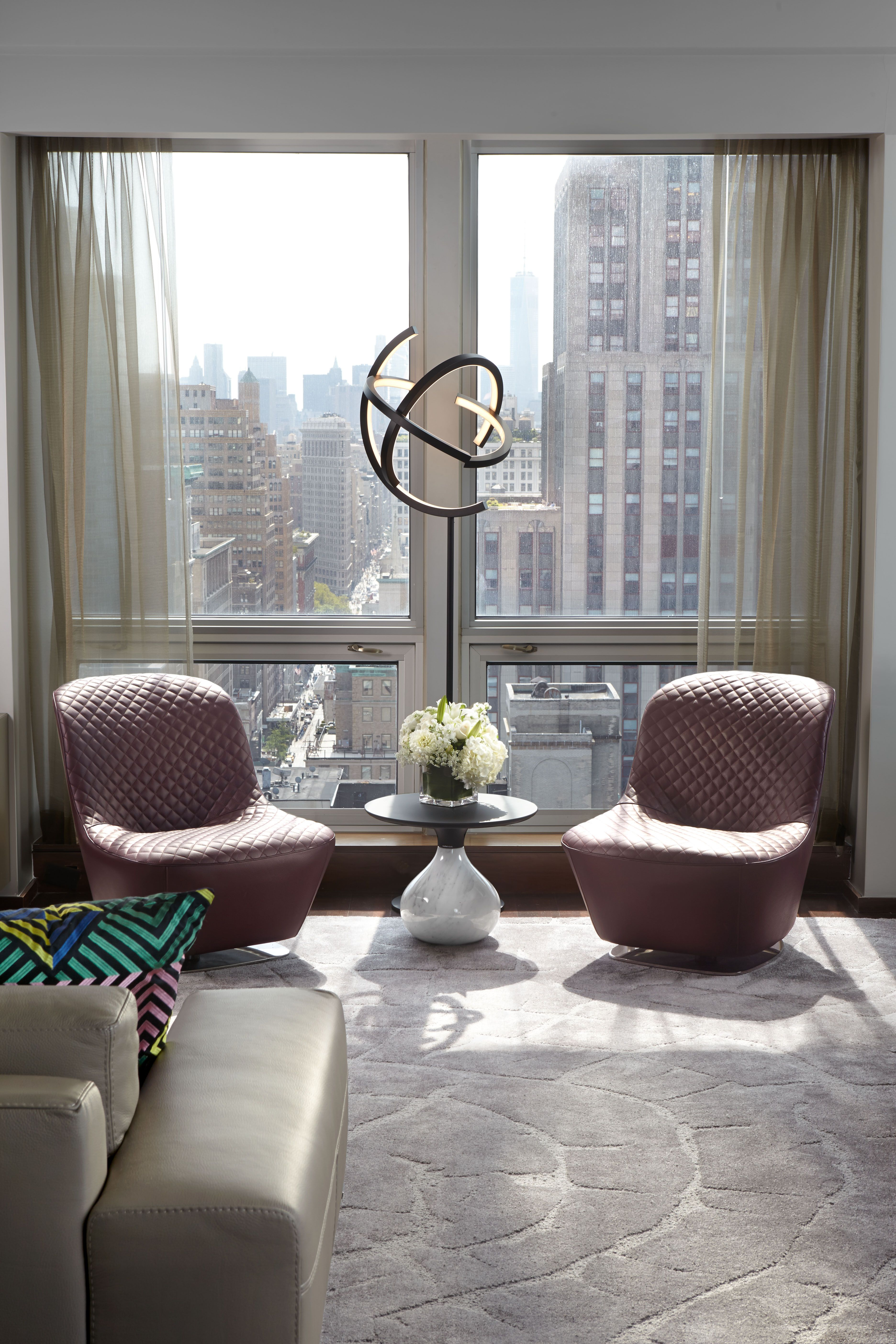 Roche Bobois Langham Place Hotel on 5th Avenue New York