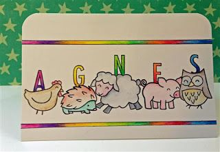 {Glitter Adventure}: Rainbow Animal Card...