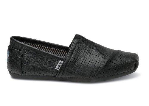 Zapatos negros casual Toms para hombre 1z4PEpG25f