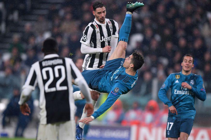 Champions League Ronaldos unverschämter Bicycle Kick Caps betonen den echten Gewinn