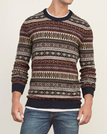 Mens Fairisle Sweater | Fashion & Style | Pinterest | Tops, Shops ...