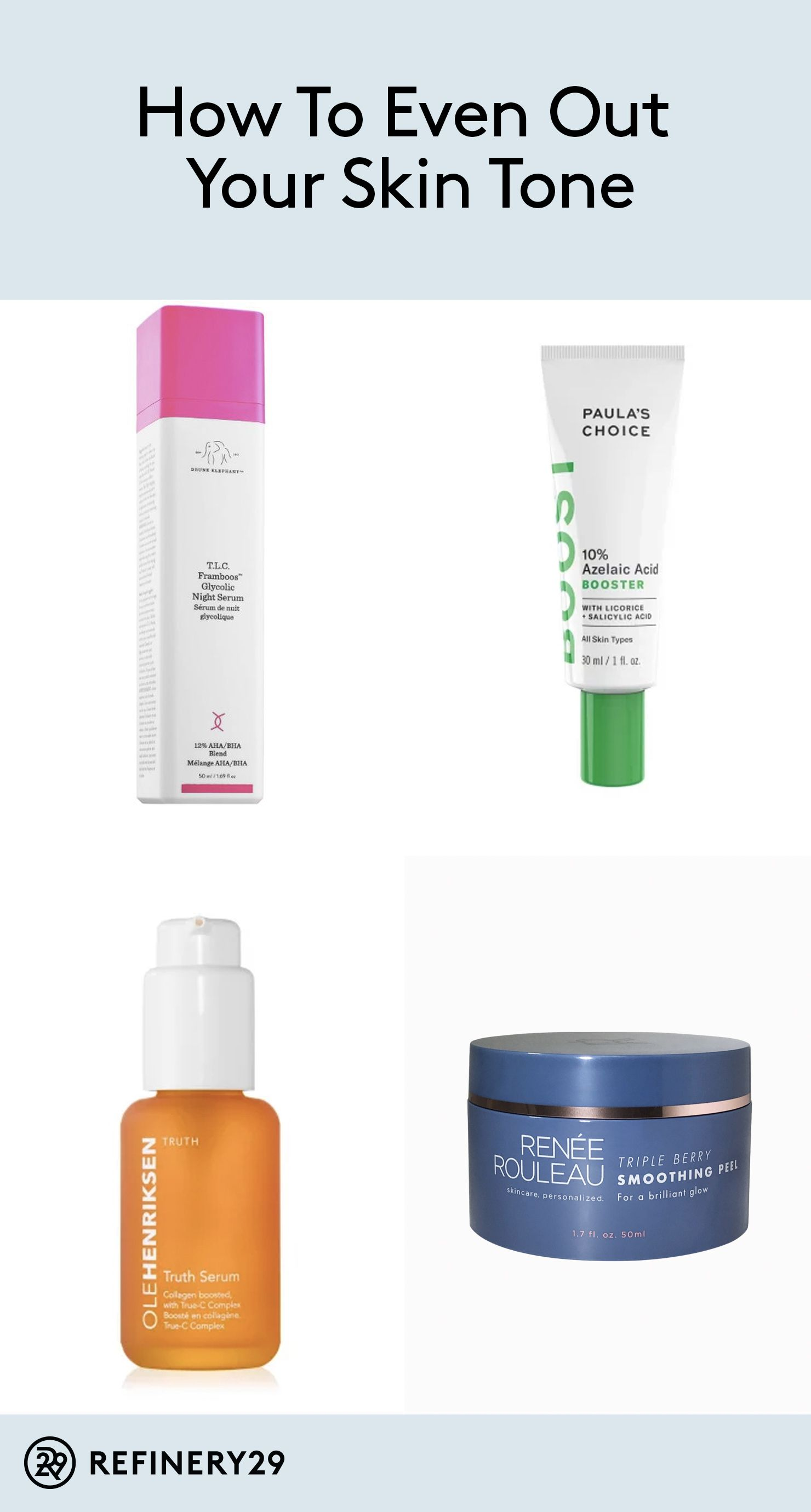 These Products Will Actually Help Even Out Your Skin Tone Best Dark Spot Corrector Skin Tones Skin Care Diy Masks