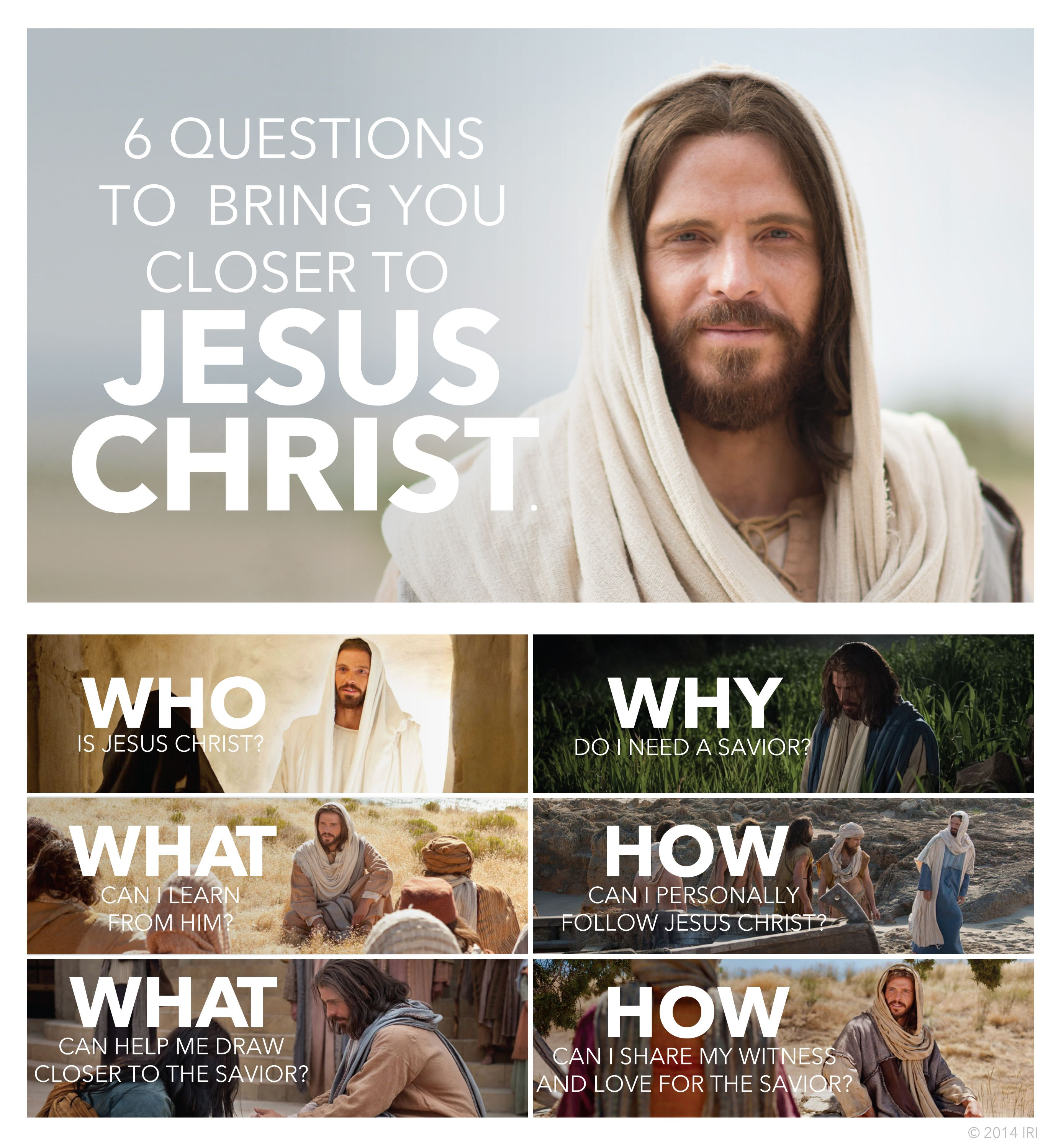 6 questions to bring you closer to Jesus Christ    Quotes