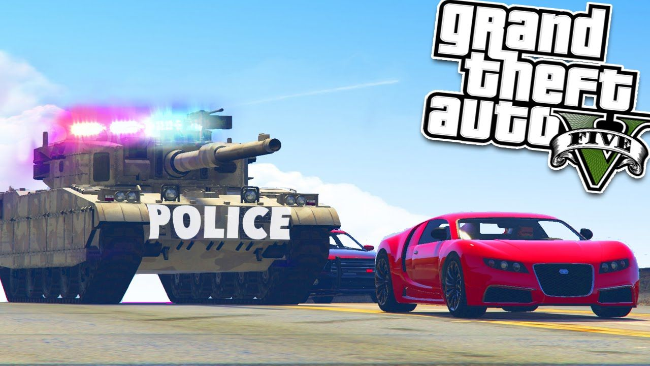 GTA 5 Mods: POLICE CHASE MOD - GTA 5 Cop Mod - GTA 5 Mods Showcase